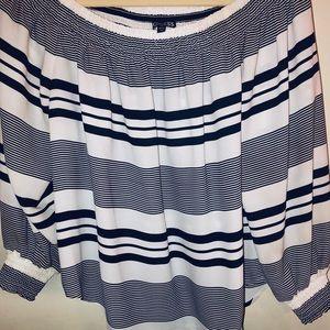 Express off-shoulder blouse